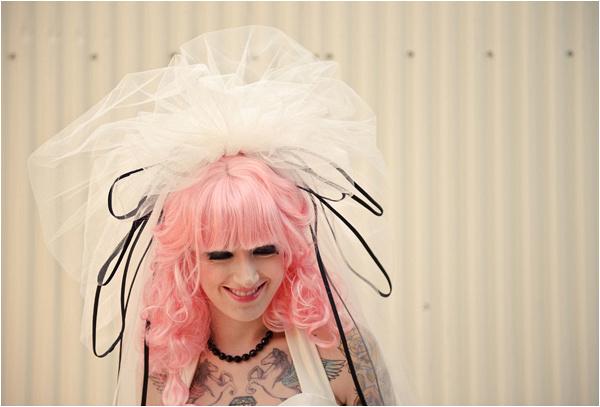 kent wedding photographer tattooed bride styled shoot