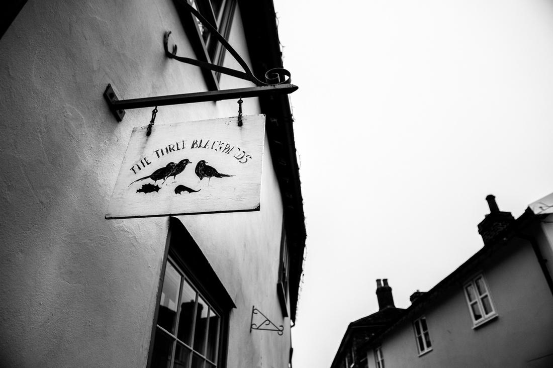 The Three Blackbirds Suffolk